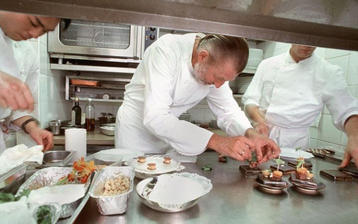 Pierre Gagnaire is one of the most inventive French chefs around today