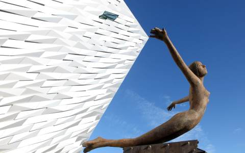 The new Titanic museum in Belfast