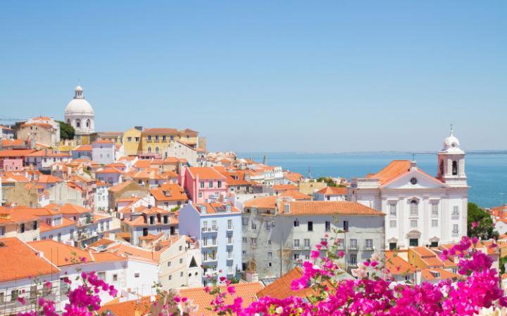 Lisbon's pastel-shade views