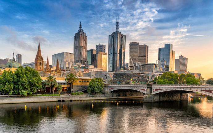 cidades mais seguras para mulheres que viajam sozinhas Melbourne, Austrália