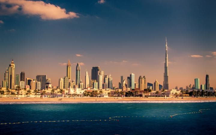Dubai's skyline - it could have been even more outlandish