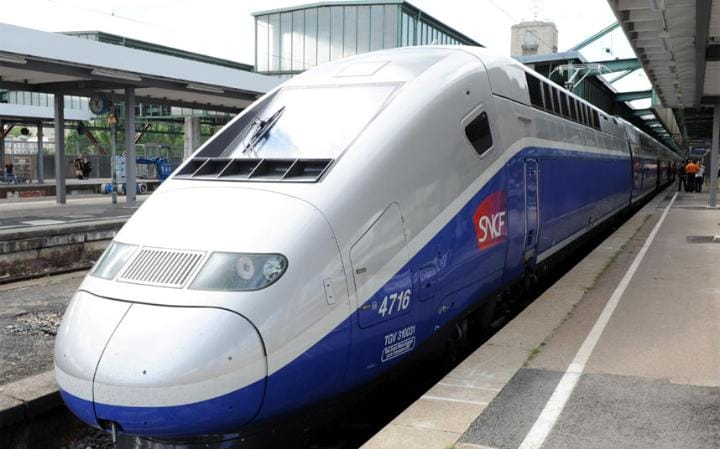 If you're travelling on a TGV train, remember to book a seat