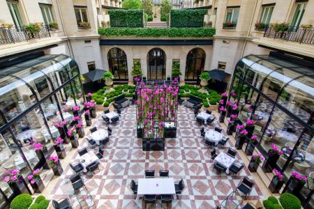 Top 10  the best luxury hotels in Paris   Telegraph Travel Four Seasons Hotel George V Paris