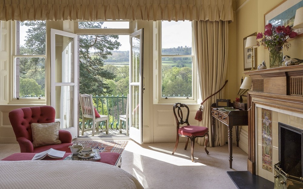 Gliffaes Country House Hotel, Brecon Beacons, Wales