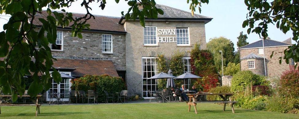 Image result for swan at hay