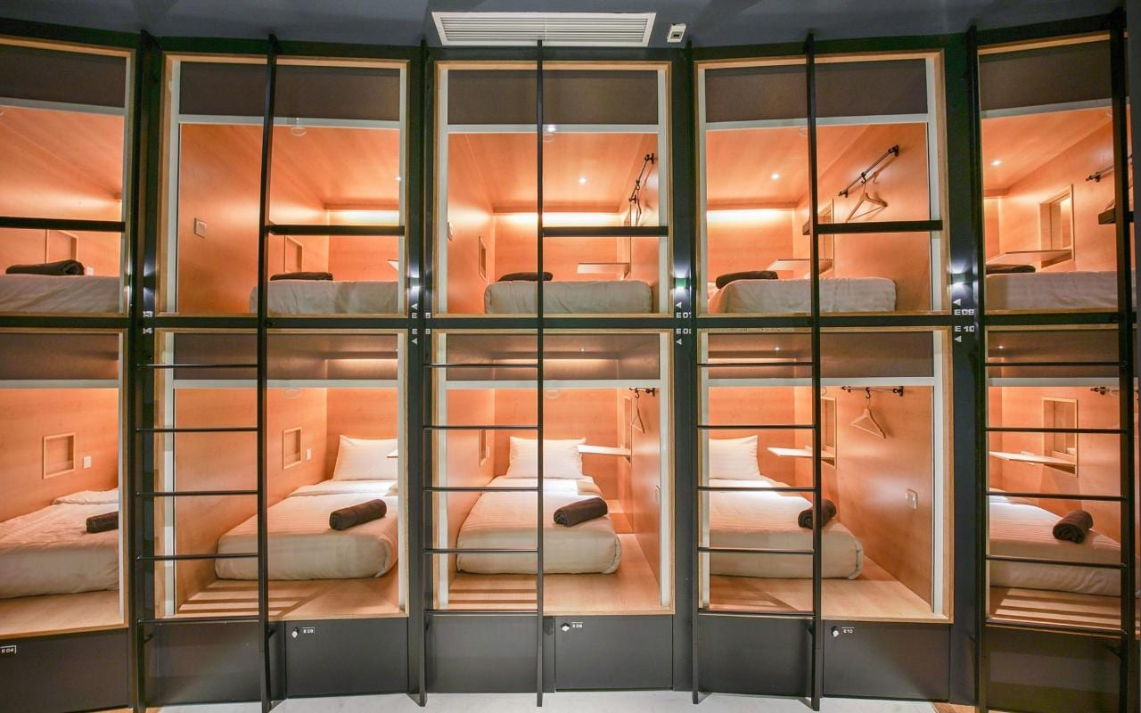 The Worlds Best Capsule Hotels Telegraph Travel