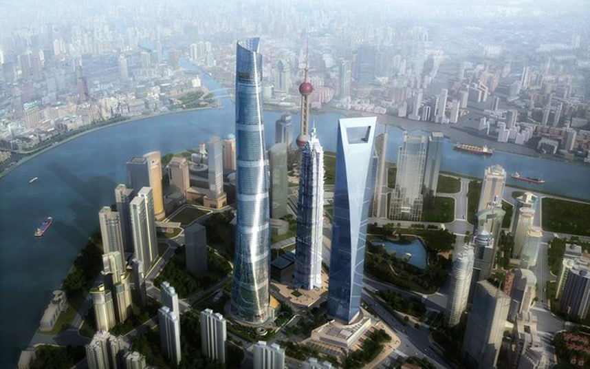 Shanghai S New Landmark China S Tallest Building Telegraph