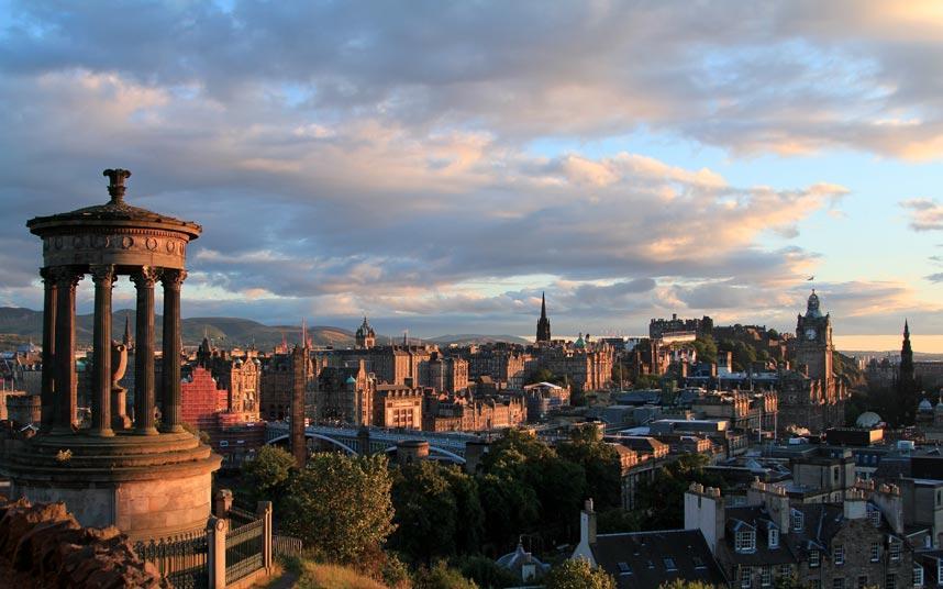 Edinburgh A Guide To Autumn Weekend Breaks Telegraph