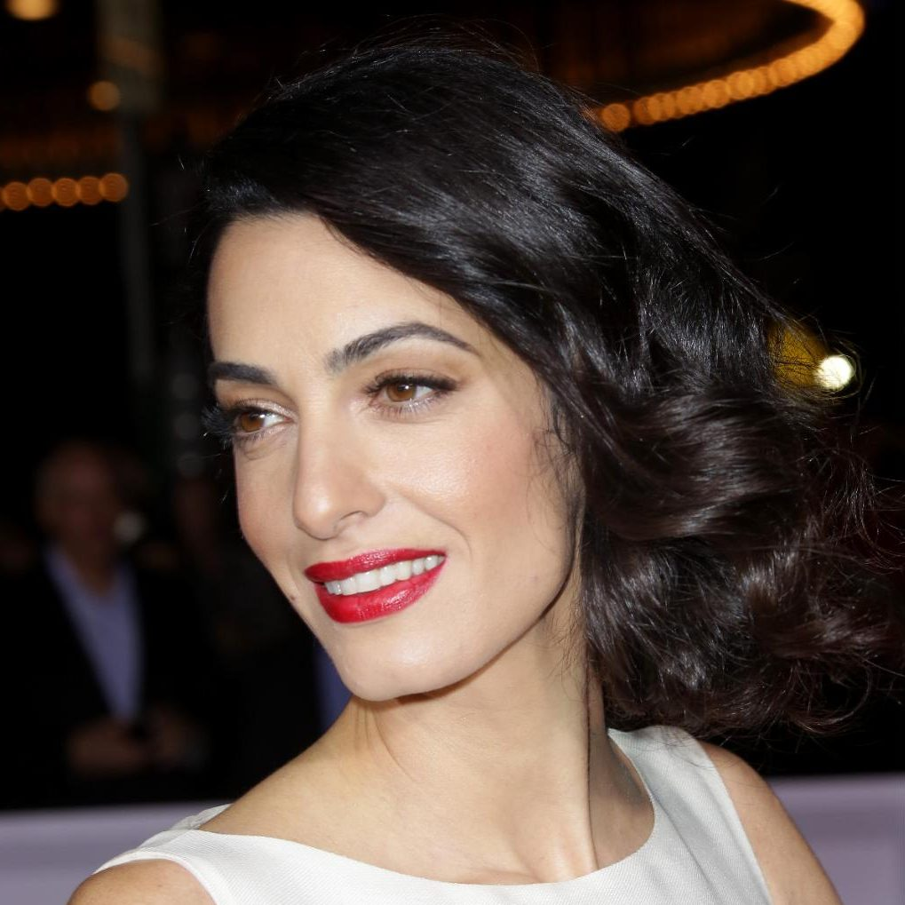 How To Recreate Amal Clooneys Faux Bob