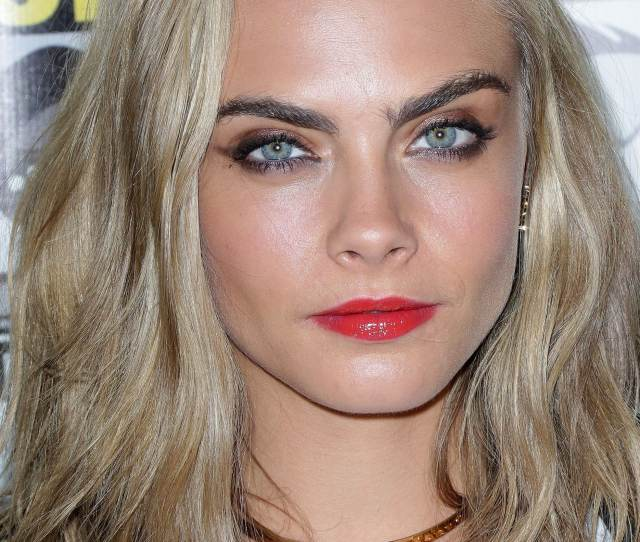 Cara Delevingne Shows Off Her New Haircut At Comic Con International In San Diego