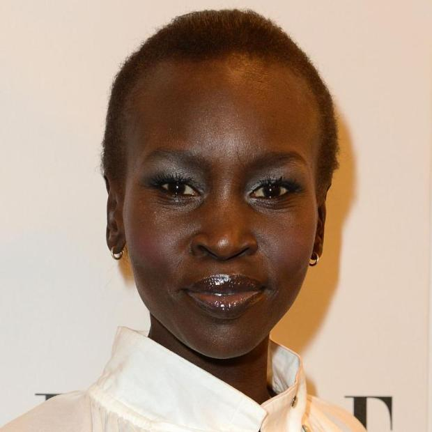 Alek Wek at the Elle Style Awards