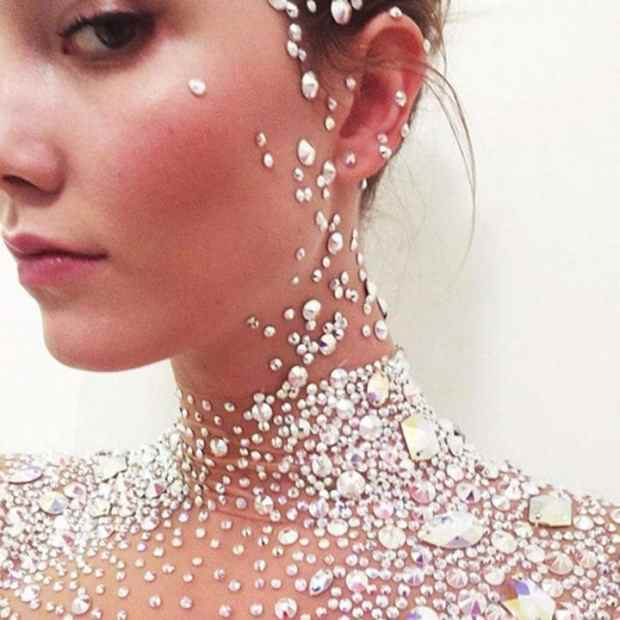 Karlie Kloss's crystal ball dress