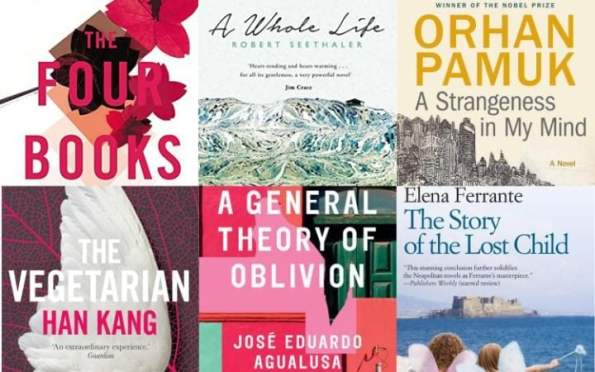 Six books are shortlisted for the 2016 Man Booker International Prize