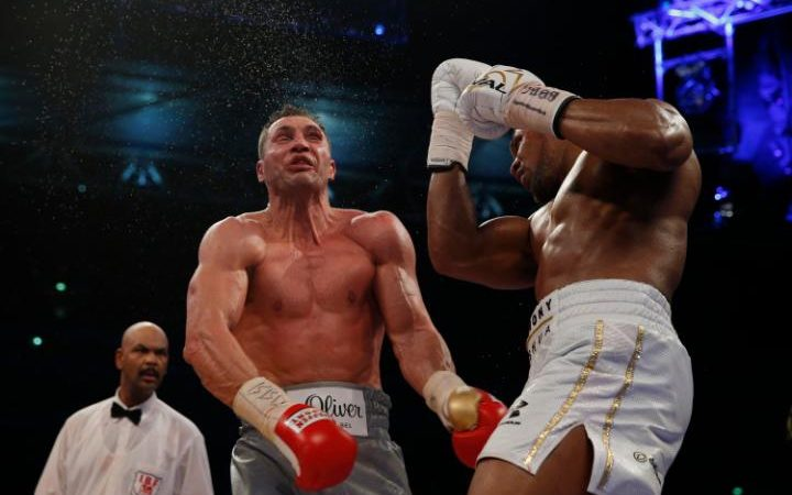 Anthony Joshua's venonmous uppercut began the end phase for Klitschko