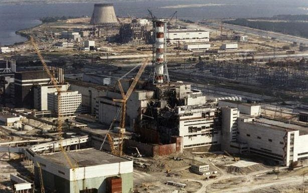 The Chernobyl disaster put paid to a new generation of nuclear power plants