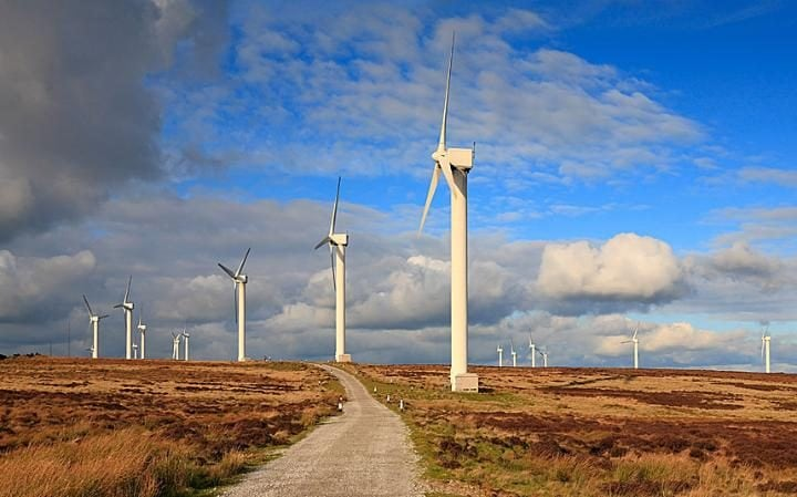 Ovenden Moor wind farm, Ovenden Halifax West Yorkshire