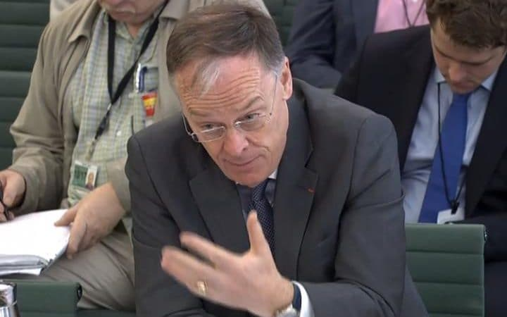 EDF Energy boss Vincent De Rivaz