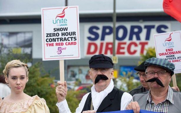 Sports Direct has come under fire for its poor treatment of some workers