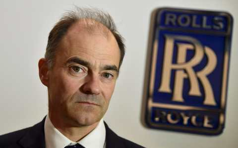Rolls-Royce chief executive Warren East