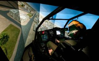 inside the cockpit of an apache helicopter