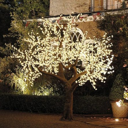 Albero decorativo a LED illuminato con alberi incantati