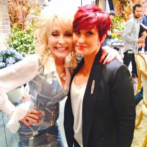 Sharon Osbourne and Dolly Parton