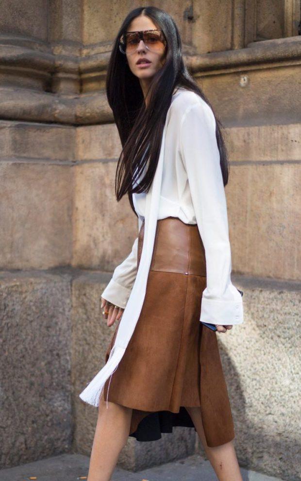 Keep the sleeves long and unbottoned like editorGilda Ambrosio