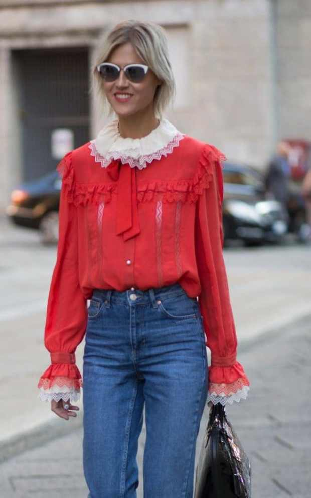 Ruffles are big news for summer, and can be a great way to inject some personality into your workwear look