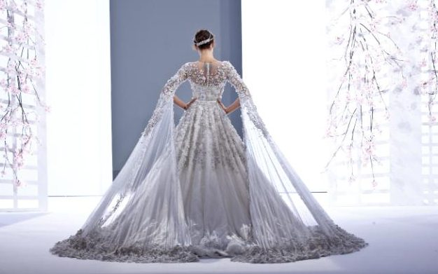 Ralph & Russo SS16 couture wedding gown