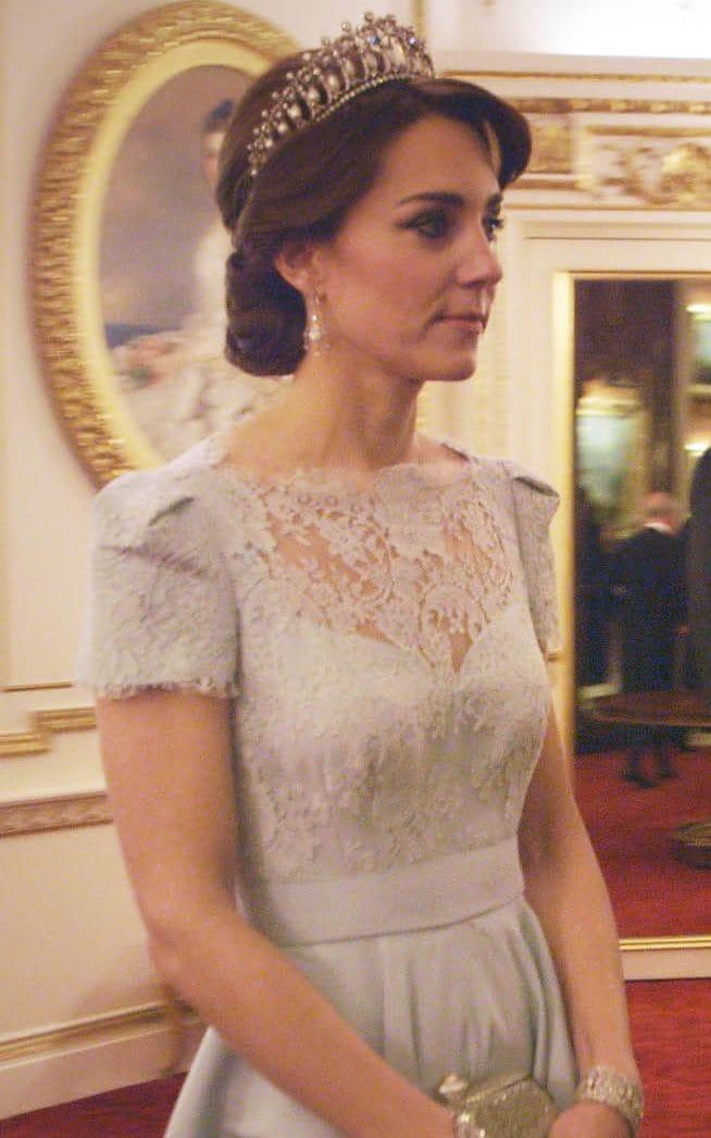 The Duchess Of Cambridge Wearing The Cambridge Lovers
