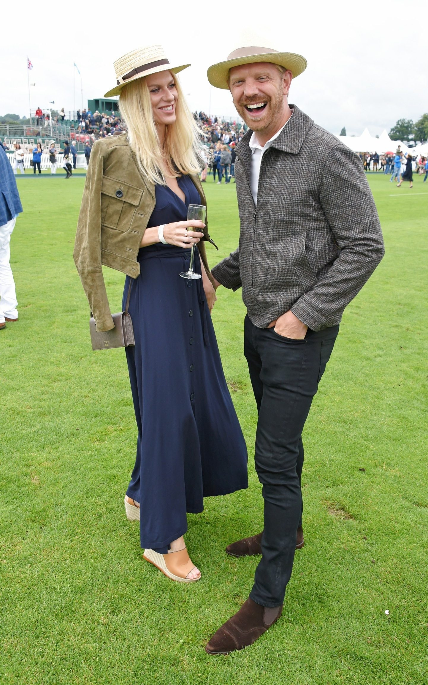 Barbara Bediova Updated A Simple Navy Dress With A Cool