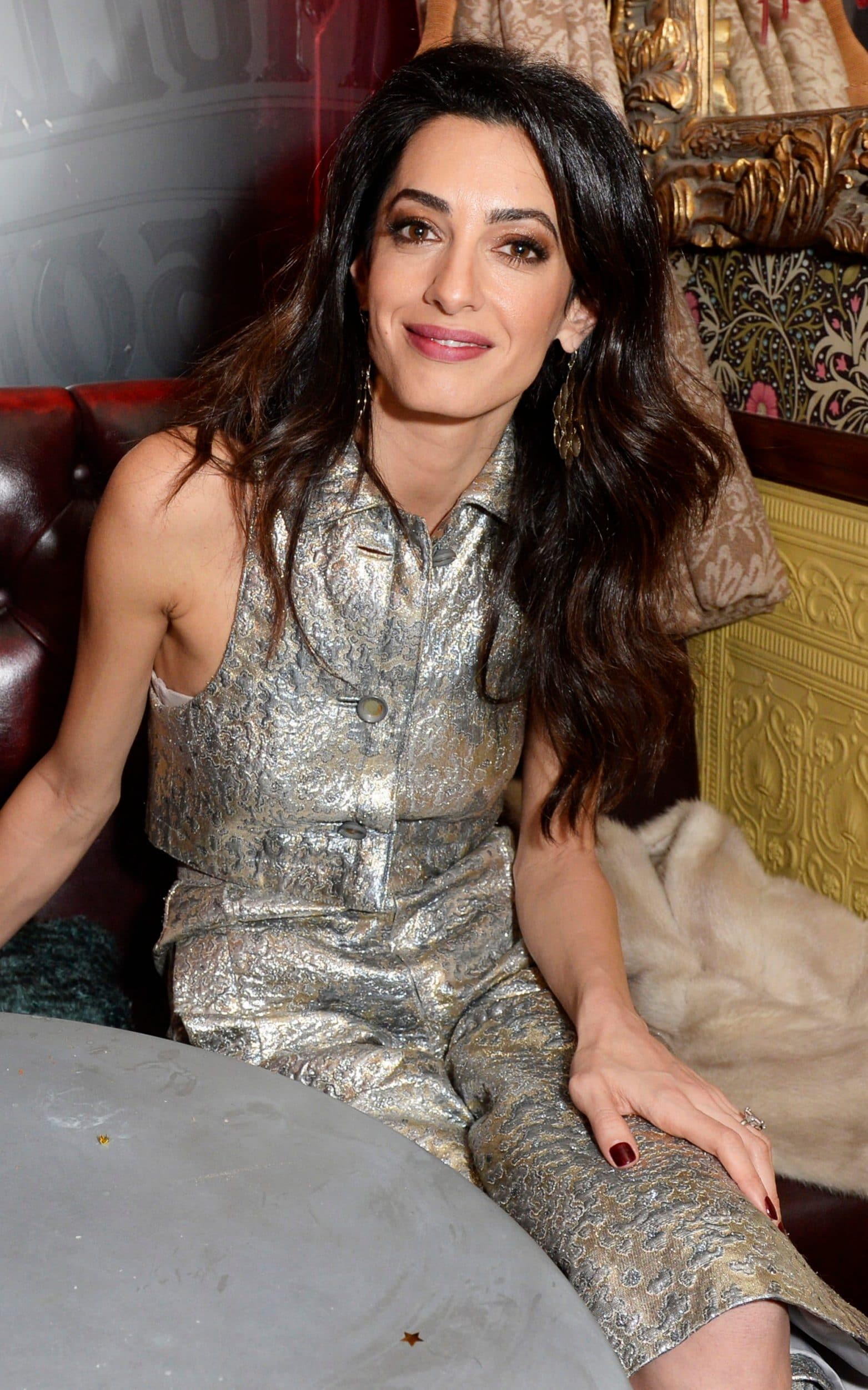 Amal Clooney wears William Vintage