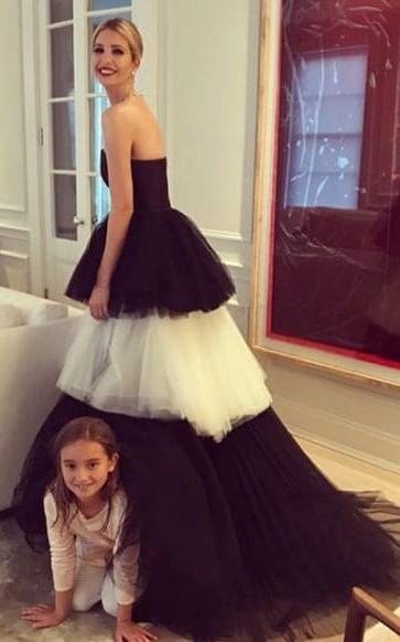 Ivanka Trump Wears The Same Carolina Herrera Gown As
