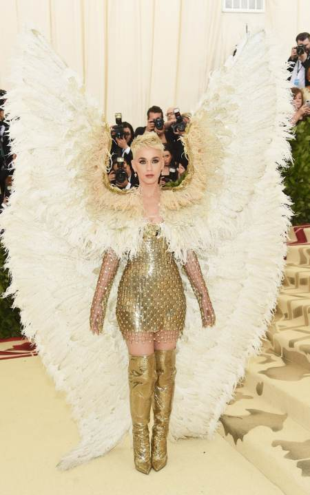 Image result for katy perry met gala look large pictures