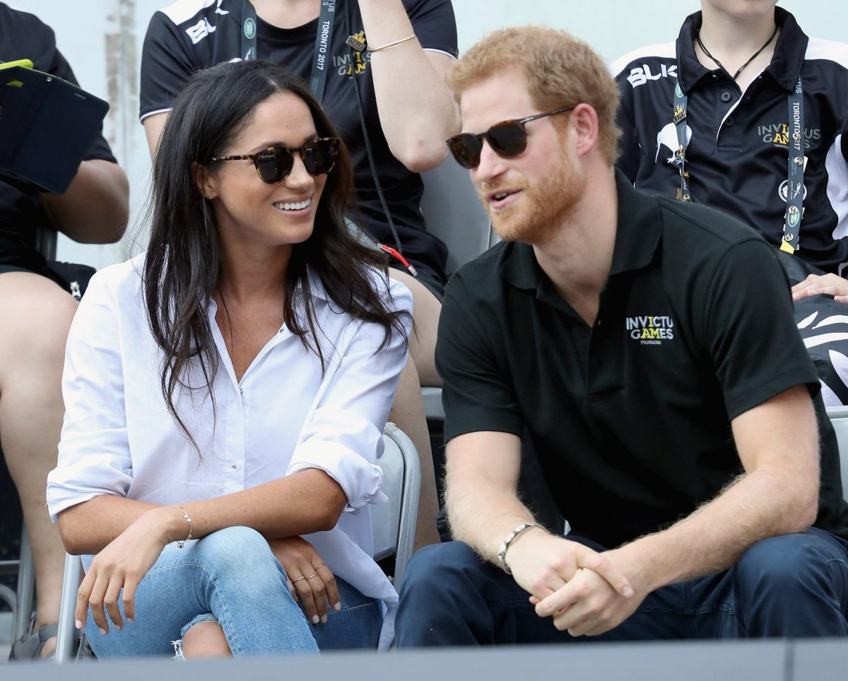 Meghan and Harry in September 2017