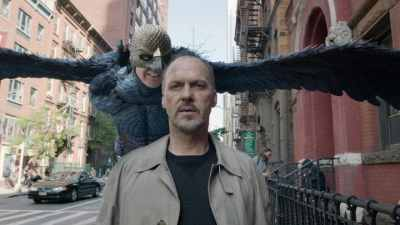 Michael Keaton played a washed-up actor in Oscar-winning drama Birdman