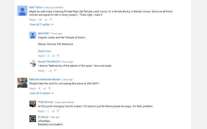 Ghostbusters comments