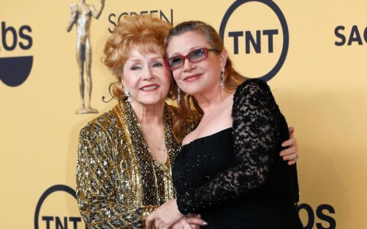 Image result for carrie fisher and debbie reynolds