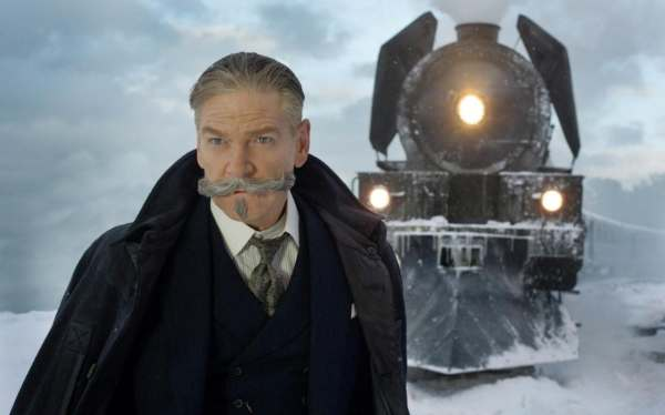 Kenneth Branagh is Hercule Poirot