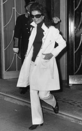 Image result for jacqueline kennedy trench