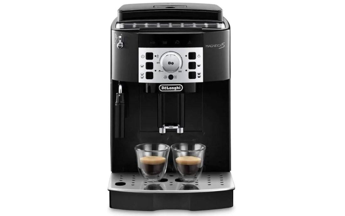 hạt delonghi để tách cà phê máy phóng đại s