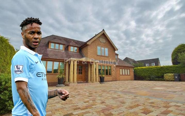 Raheem Sterling and the mansion he can't sell
