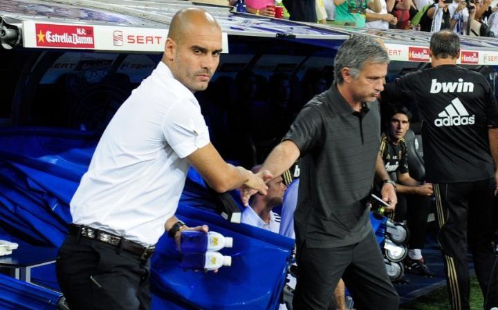 Image result for jose mourinho vs guardiola