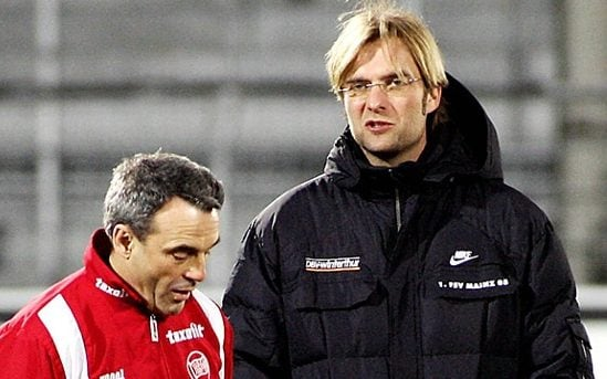 Image result for wolfgang frank and klopp