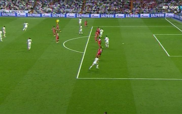 Ronaldo offside goal