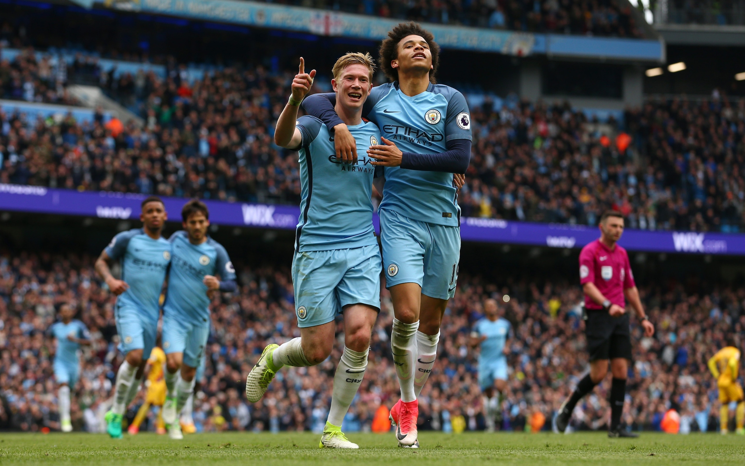 Manchester City 5 Crystal Palace 0 Everything Clicks For