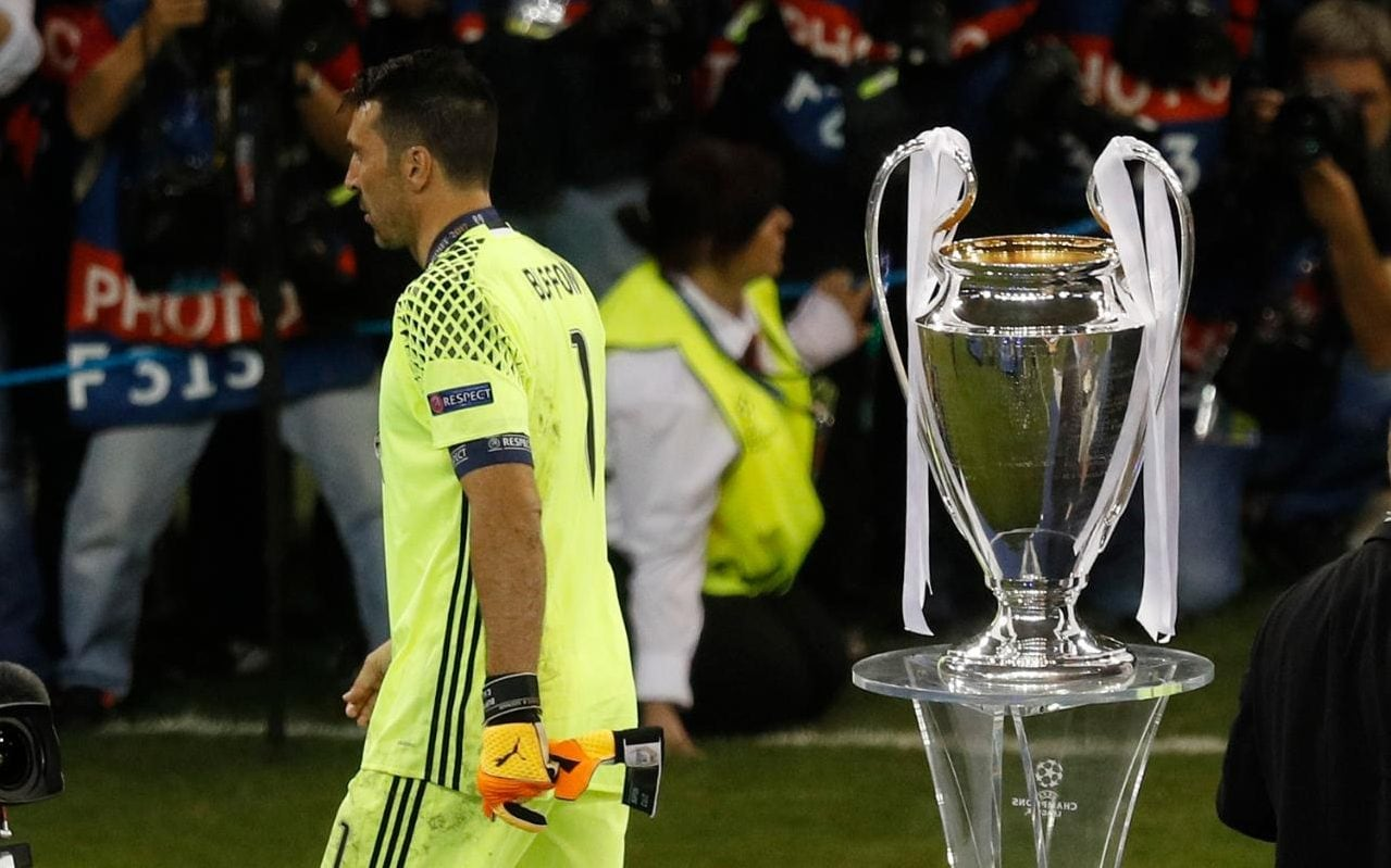 Gianluigi Buffon Left In Despair As Final Chance To Win Champions League Trophy Slips Through