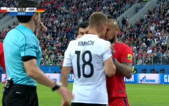 Kimmich vs Vidal