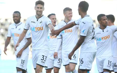 Image result for swansea 2017/18