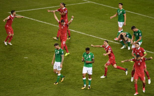 Ireland 0 Serbia 1: Martin O'Neill's men will have to win final two matches  to stand chance of play-off